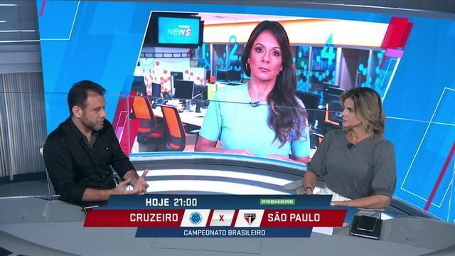 Mesa debate importância do apoio da torcida para que o Cruzeiro consiga sair da situação atual