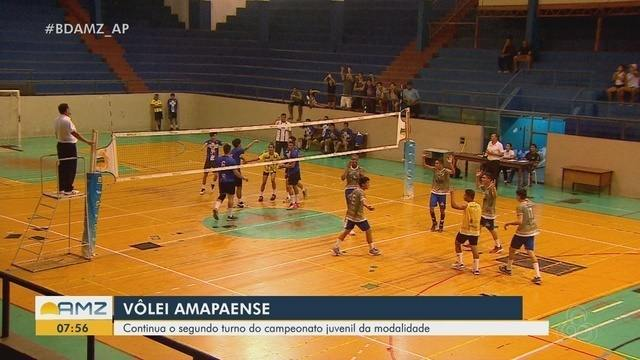 Campeonato Amapaense Juvenil de Vôlei chega no 2º turno