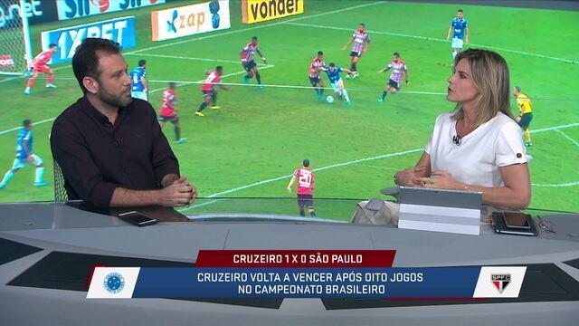 Comentaristas dizem que Thiago Neves é decisivo e que era esperado que ele aparecesse no jogo contra o São Paulo