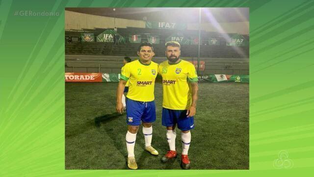Tem rondoniense brilhando na Seleção Brasileira de FUT7