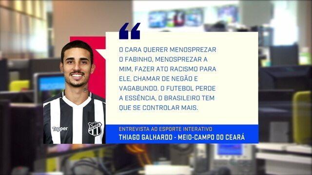 Mesa comenta declaração de Thiago Galhardo sobre racismo na Vila Belmiro