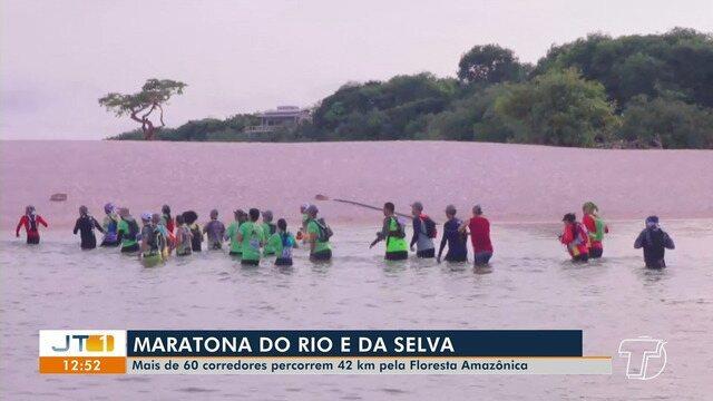 'Maratona do Rio e da Selva' foi realizada neste fim de semana em Santarém