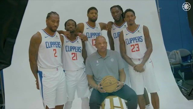 Los Angeles Clippers se prepara para voltar como favorito da temporada 2019 da NBA