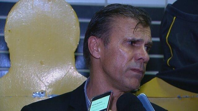 Milton Mendes anuncia saída do São Bento e fala sobre acusação de estupro