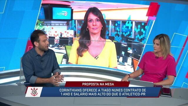 Loffredo acredita que, mesmo que Tiago Nunes não dê certo no Corinthians, ele não voltaria para o Athletico-PR