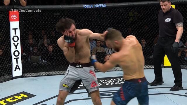Melhores Momentos de Zabit Magomedsharipov x Calvin Kattar no UFC Moscou