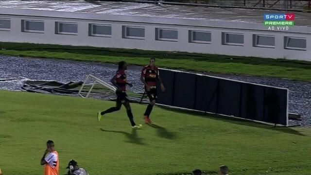 Aos 13 do 2T Guilherme marca o segundo do Sport