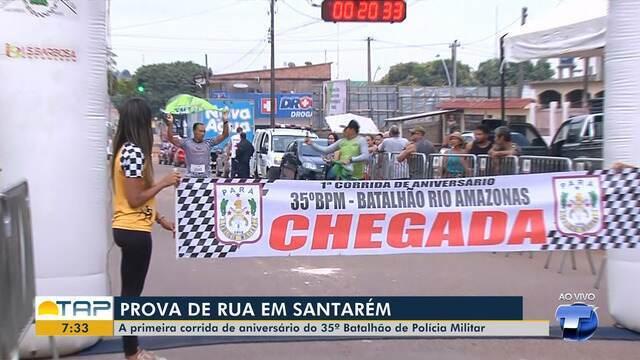 Corrida da PM acontece nesta sexta-feira em Santarém