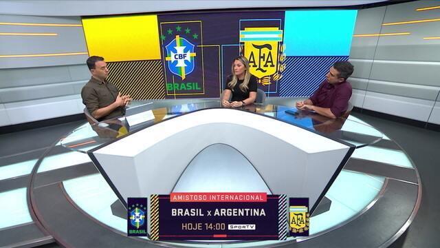 Seleção SporTV critica decisão da CBF de levar amistoso com a Argentina para Arábia Saudita