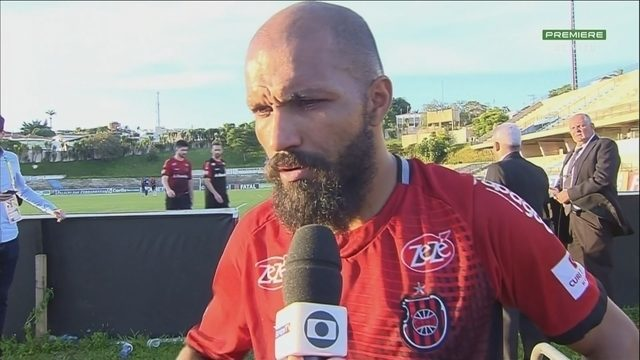 Héverton fala após a derrota do Brasil de Pelotas
