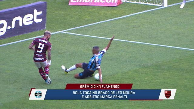 Mesa acredita que pênalti a favor do Flamengo não deveria ter sido marcado