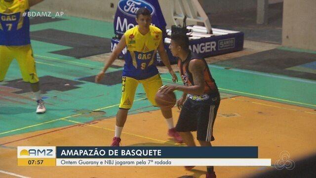 Guarany e NBJ se enfrentam pela 7ª rodada do Amapazão do Basquetebol