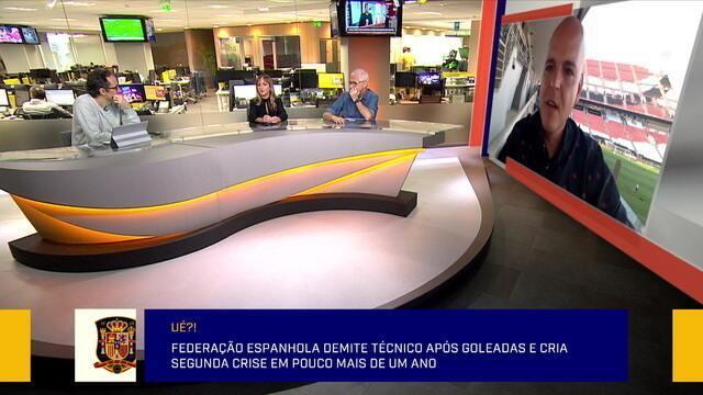 Redação comenta demissão de Robert Moreno e problemas da Federação da Espanha