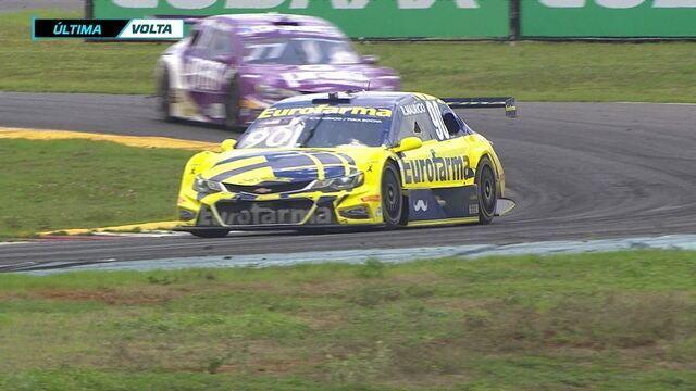 Ricardo Maurício vence corrida dois na etapa de Goiânia da Stock Car