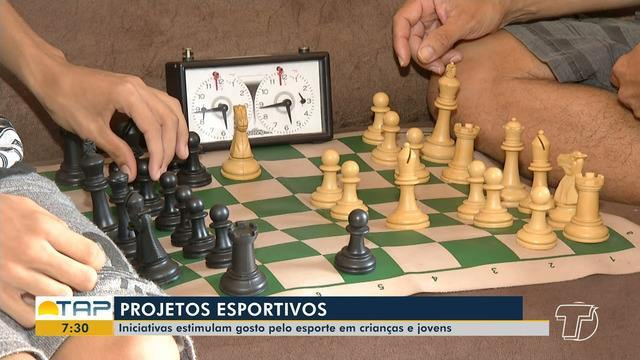Projetos esportivos estimulam gosto pelo esporte em crianças e adolescentes em Santarém