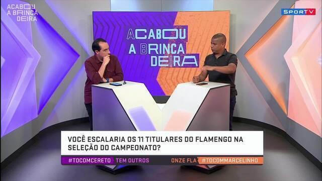 """No #AcabouaBrincadeira, Marcelinho Carioca afirma: """"O Flamengo vai ser bicampeão do mundo"""""""