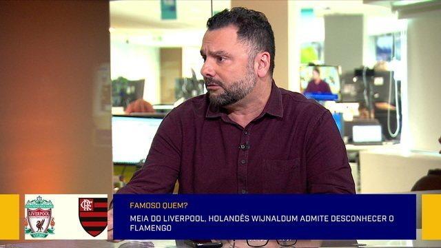 Redação discute sobre os diferentes pesos de uma possível final entre Flamengo e Liverpool