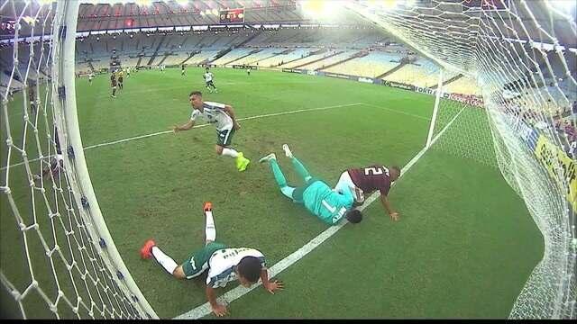 Os gols de Flamengo 3 x 2 Palmeiras pela final da Supercopa do Brasil Sub-17