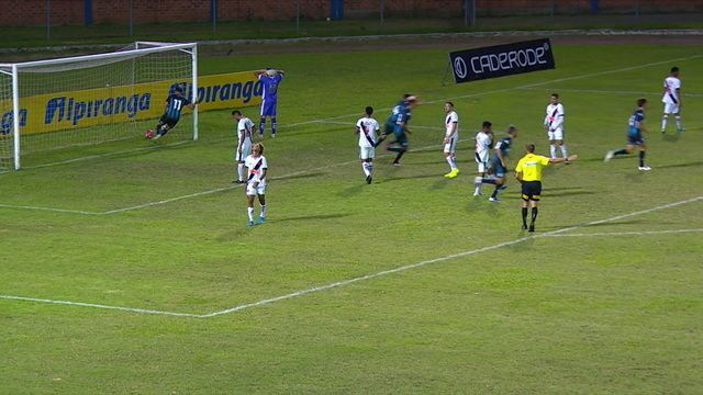 Os gols de Racing 2 x 2 Vasco pela Copa RS Sub-20