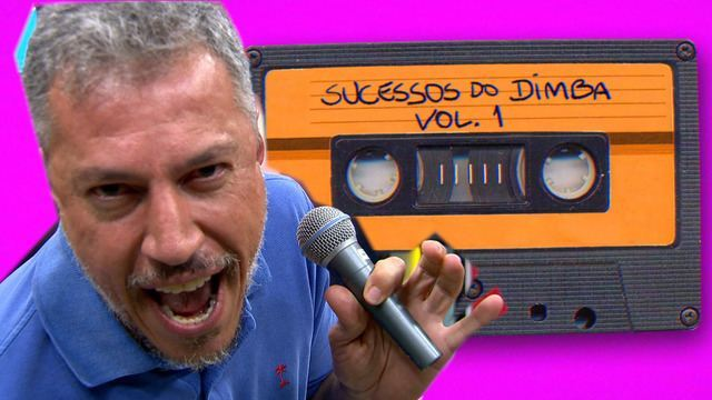 Chamada Boleiragem: Dimba solta a voz no estilo karaokê