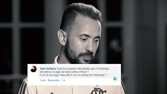Éverton Ribeiro responde perguntas dos internautas