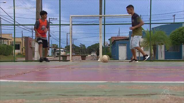 De férias: Dois jogadores de Rondônia fazem sucesso no interior de São Paulo