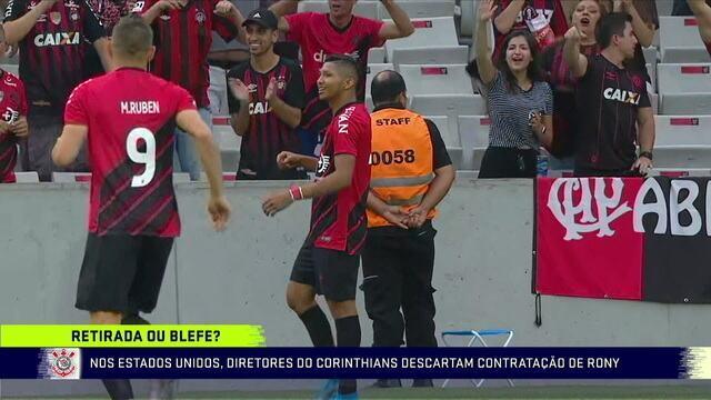 Comentaristas discutem a desistência da contratação do Rony pelo Corinthians