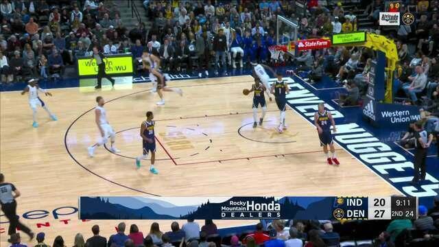 Melhores momentos: Denver Nuggets 107 x 115 Indiana Pacers, pela NBA