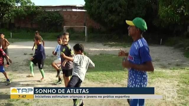 Iniciativas estimulam crianças e adolescentes a ingressarem no mundo do esporte