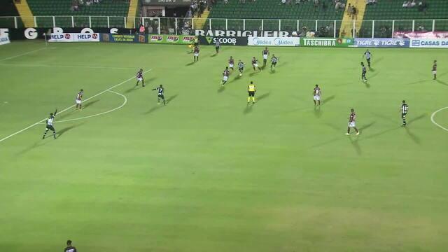 Confira os melhores momentos do jogo Figueirense x Juventus-SC