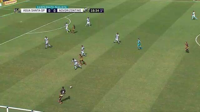 Os gols de Água Santa 0 x 2 Novorizontino