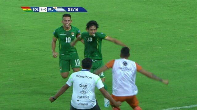Os gols de Bolívia 3 x 2 Uruguai pelo Pré Olímpico sub-23