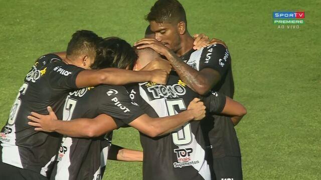 O gol de Botafogo-SP 0 x 1 Ponte Preta pela 2ª rodada do Campeonato Paulista