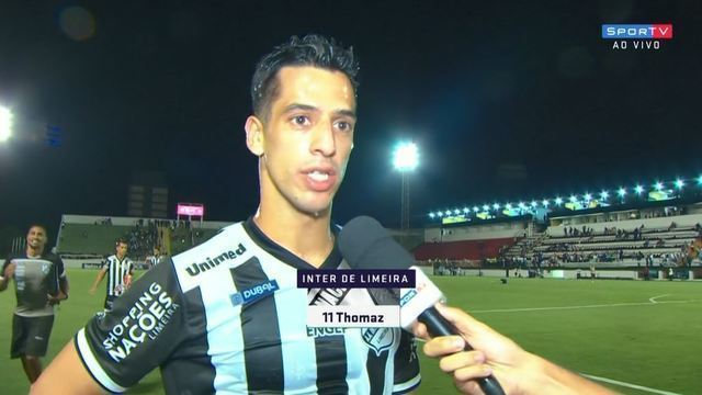 """Thomáz fala sobre primeira vitória no Paulistão: """"Ainda temos muito o que melhorar"""""""