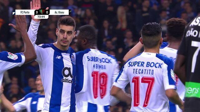 Os gols de Porto 3 x 0 Viseu pela semifinal da Taça de Portugal 2019/2020