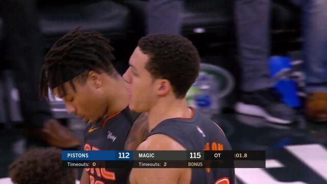 Melhores momentos: Orlando Magic 116 x 112 Detroit Pistons, pela NBA