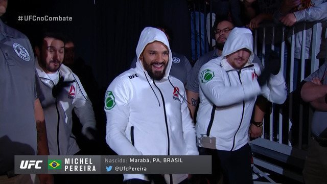 Entrada irreverente de Michel Pereira UFC Rio Rancho em 15/02/2020