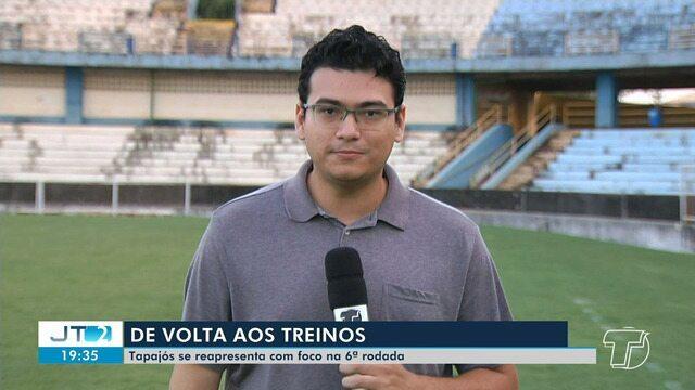 Tapajós se prepara para jogo da sexta rodada do Campeonato Paraense
