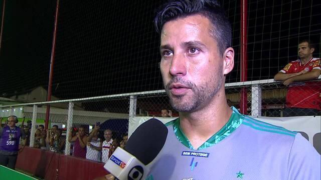 Fábio fala em domínio do Tombense e aponta erros do Cruzeiro em derrota