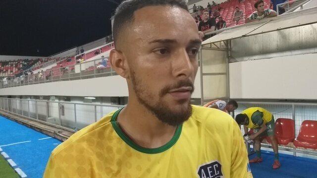 """Goleiro do Andirá sobre pênalti decisivo em revés: """"Se fosse ao contrário ele não ia dar"""""""