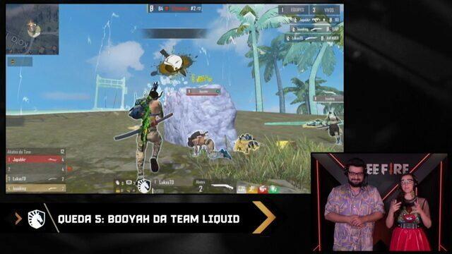 Liquid vence troca com B4 e leva seu segundo booyah da tarde na LBFF