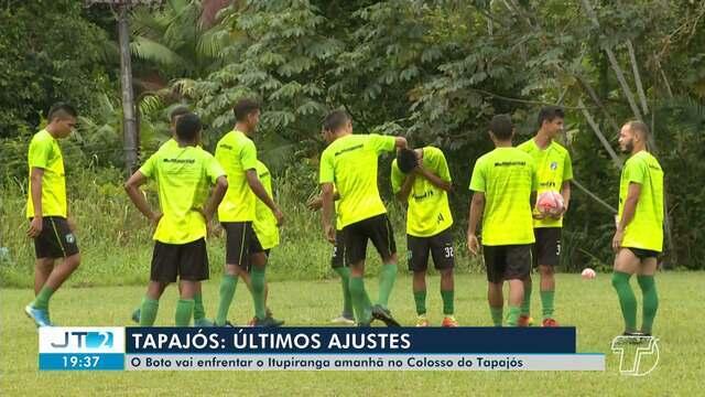 Tapajós se prepara para enfrentar o Itupiranga no domingo (15), em Santarém