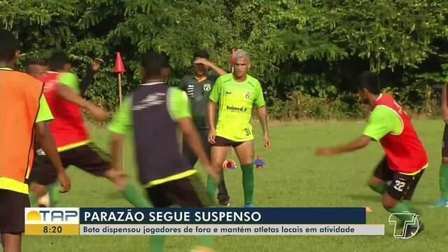Jogadores do Tapajós aguardam decisão sobre retorno ou não do Parazão