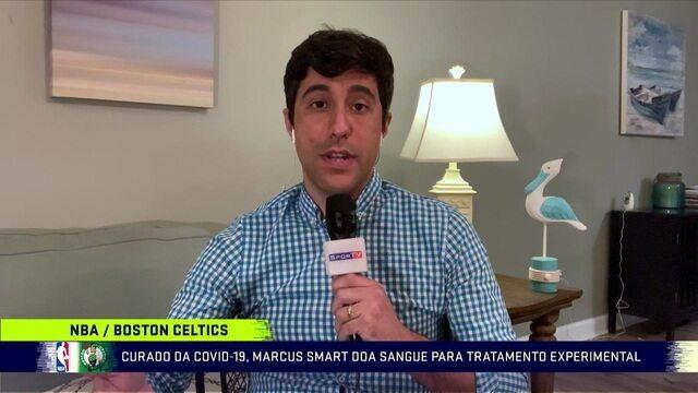 Correspondente Camilo Machado fala sobre a decisão do prefeito de tirar os aros de basquete das quadras de NY