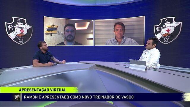 """Pedrinho avalia chegada de Ramon ao Vasco: """"Está preparado"""""""