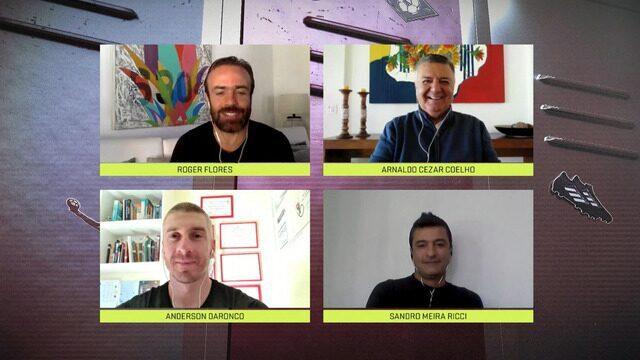 Boleiragem Chinelinho: Um papo sobre arbitragem com Arnaldo, Sandro Meira Ricci e Daronco
