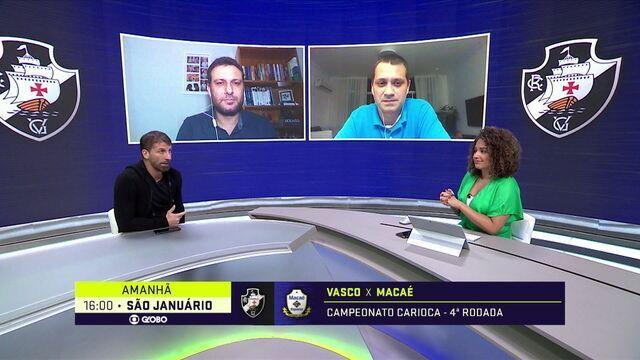 Ricardo Graça, Fellipe Bastos e Bruno César ganham espaço na estreia de Ramon no comando do Vasco