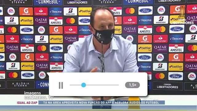 Tá na Área aproveita nova função de aplicativo e acelera áudios do futebol