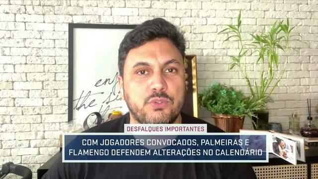 Cahê Mota fala sobre desfalques no Flamengo e a situação do Gerson