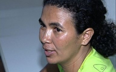 Solange de Oliveira who says she 'only meant to poke him with the knife, but it went in deep' showed no remorse.